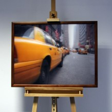 3D-Bild: Taxi in New York | Big Apple, Cab, Taxi, NY