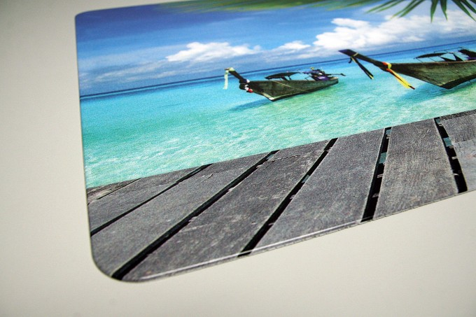 schreibtischunterlage karibik wasser meer strand 40 x 60 cm abwischbar schreibtischunterlagen. Black Bedroom Furniture Sets. Home Design Ideas