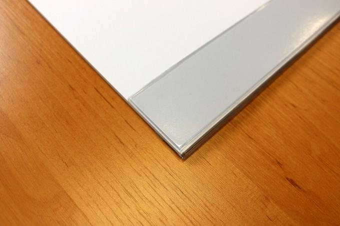 schreibtischunterlage papier mit schutzleiste blanko wei 30 blatt 59 5 x 40 cm 90g papier. Black Bedroom Furniture Sets. Home Design Ideas